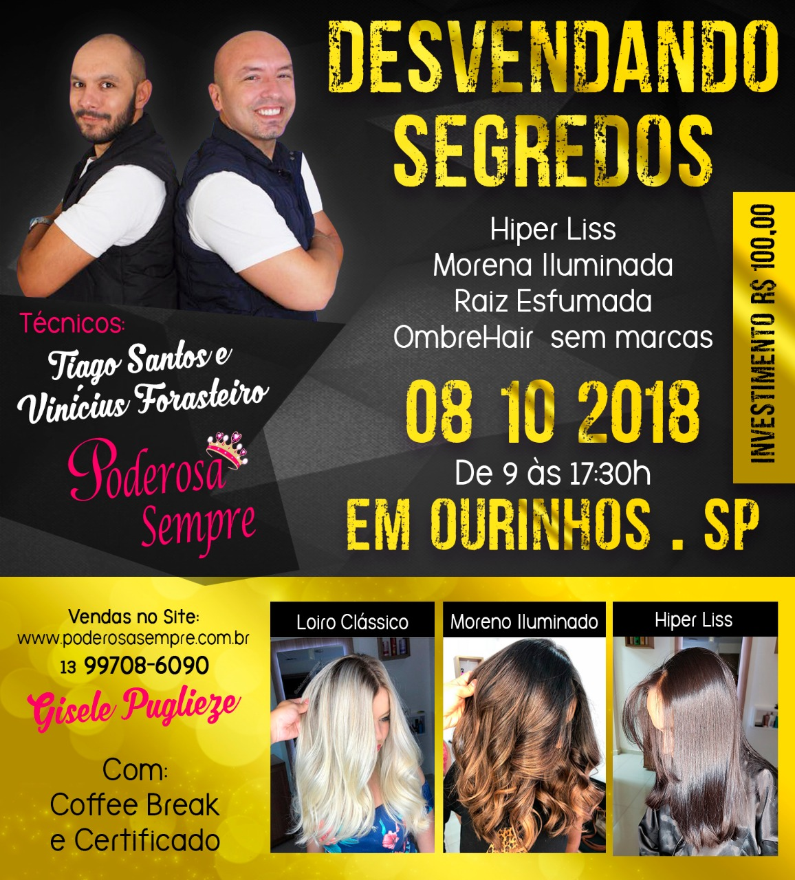 WORKSHOP TIAGO SANTOS E VINÍCIUS FORASTEIRO 08-10-2018