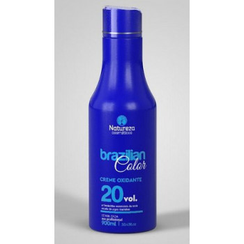 Aguá oxigenada (OX) 20V natureza cosméticos 900ml