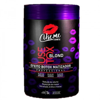 Use Tox Blond Efeito Btox Matizador Use Me Cosmetic 1kl