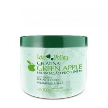 Gelatina Green Apple Love Potion Hidratação Profunda 300g