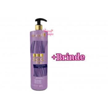 Progressiva para Loiras Blond Gold Free Realinhamento térmico Souple liss + Brinde