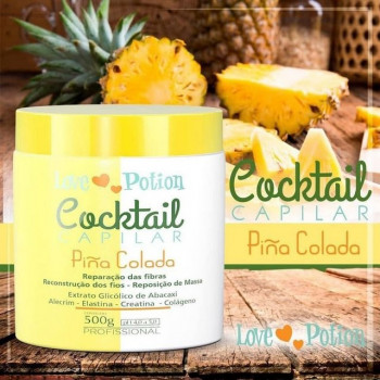 Máscara Cocktail Capilar Piña Colada  Love Potion 500g