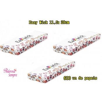 3 un Papel Para Mechas Easy Wick 11,5x28cm 200 Papeis  (Médio