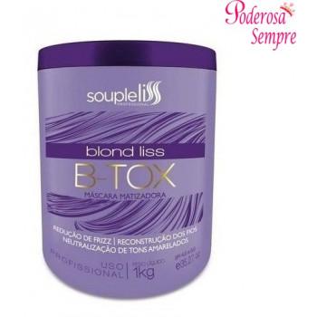 Botox Blond Liss B-tox Máscara Matizadora 1Kg Souple liss