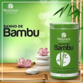Máscara Banho de Bambu 1kg Natureza Cosméticos
