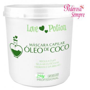 Mascara Capilar Óleo de Coco 250g Love Potion