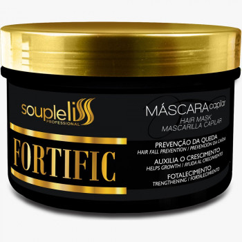 MÁSCARA FORTIFIC HOME CARE SOUPLE LISS 300G