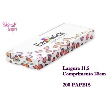 Papel Para Mechas Easy Wick 11,5x28cm 200 Papeis (Médio}