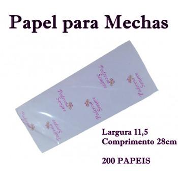 PAPEL PARA MECHAS  11,5X28CM 200 Folhas (MÉDIO} PODEROSA SEMPRE