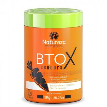 Botox de Cenoura 1kg Natureza Cosméticos