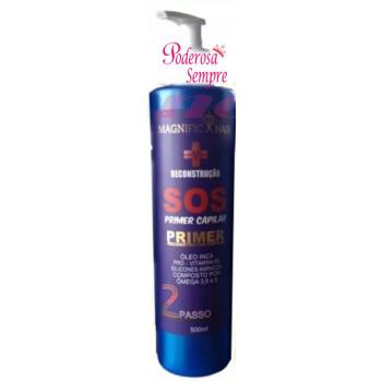 Magnific hair - Passo 2 do SOS  Primer 500ml