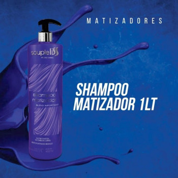SHAMPOO MATIZADOR 1L SOUPLE LISS