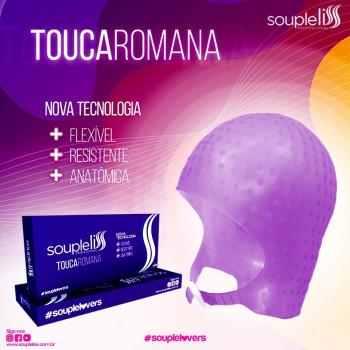 Touca Romana De Silicone Para Mechas Souple Liss